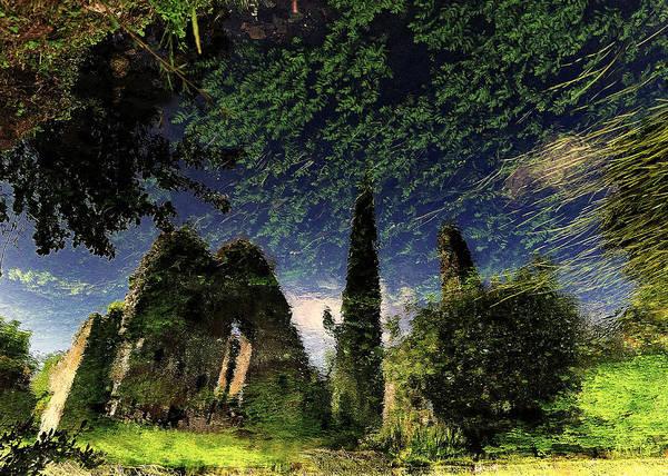 Reflections Photograph - Reflected Ruins by Fulvio Pellegrini