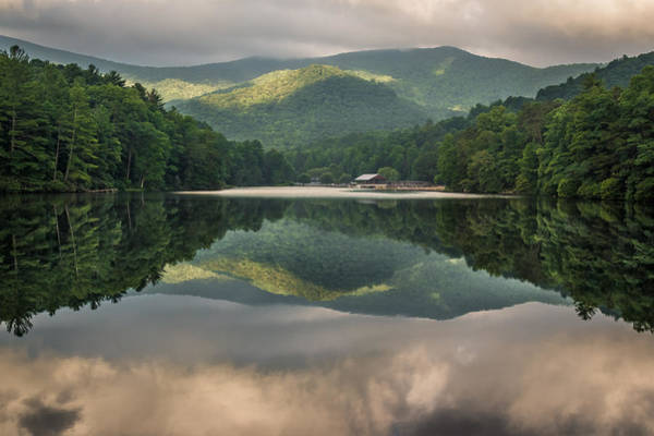 Vogel Photograph - Reflecting At Vogel by Jason Clemmons