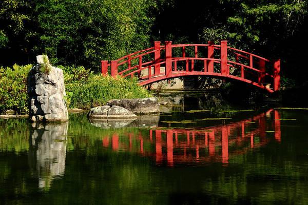 Wall Art - Photograph - Reflecting Bridge 2 by Kevin Wheeler