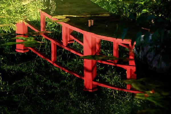 Wall Art - Photograph - Reflecting Bridge by Kevin Wheeler