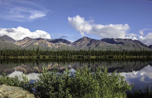 Wall Art - Photograph - Reflecting On A Beautiful Day In Alaska by Madeline Ellis