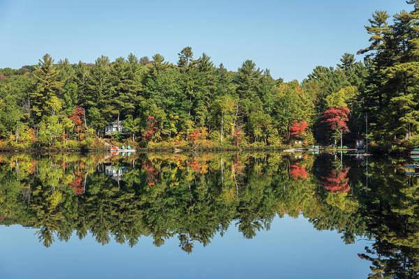 Photograph - Reflecting On Cottage Life Up North by Georgia Mizuleva