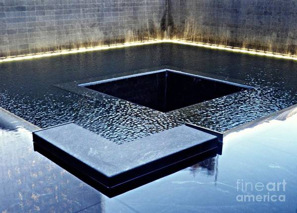 September 11 Wall Art - Photograph - Reflecting On Nine Eleven 1 by Sarah Loft