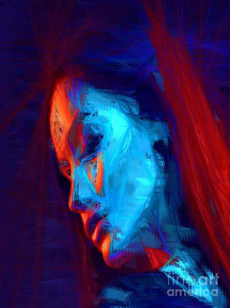 Digital Art - Reflecting On Our Times by Rafael Salazar