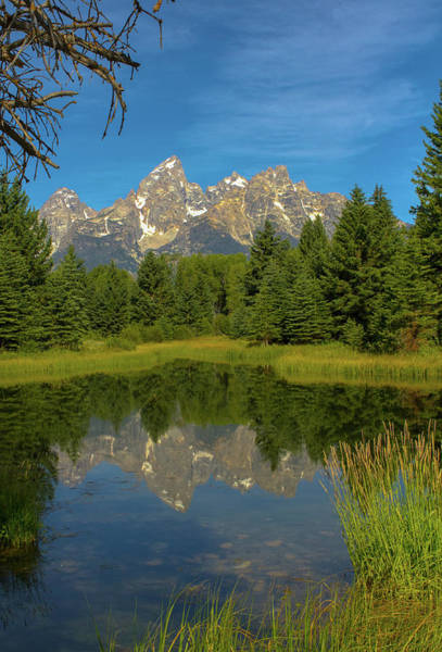 Photograph - Reflecting On The Tetons by Jeff Kurtz