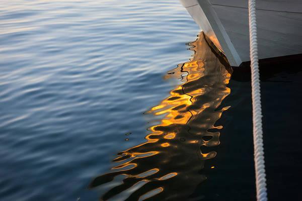 Photograph - Reflecting On Yachts And Sunsets by Georgia Mizuleva