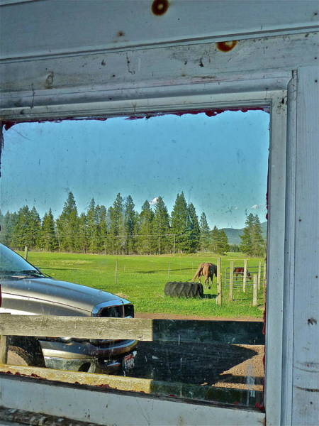 Photograph - Reflecting The Country by Diana Hatcher