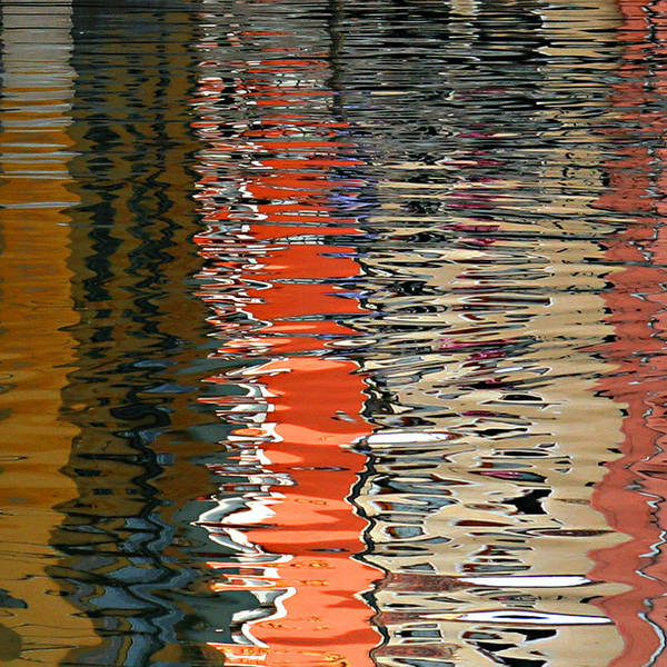 Photograph - Reflection Abstract 1 by Vicki Hone Smith