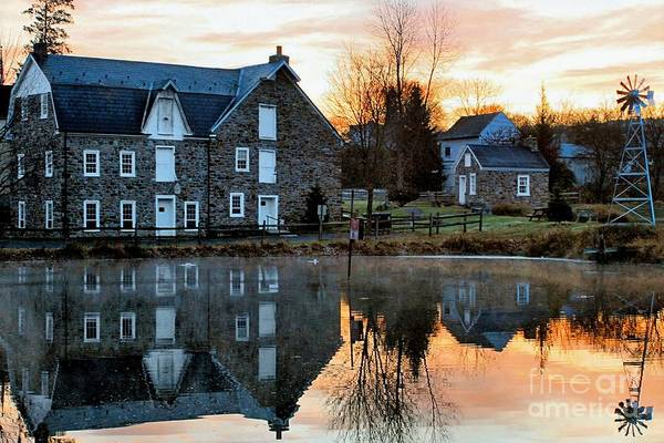 Wall Art - Photograph - Reflection At Wagner Mill by DJ Florek