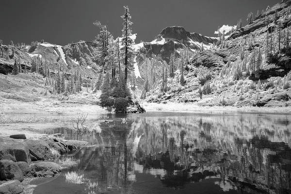 Photograph - Reflection In Bagley Lake by Jon Glaser