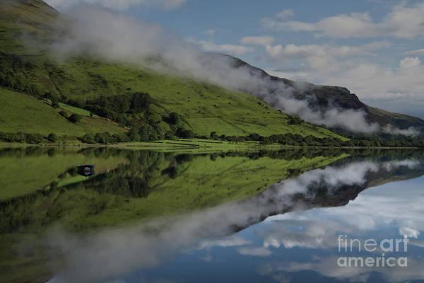 Mach Loop Photograph - Reflection In The Llyn Mwyngil by MSVRVisual Rawshutterbug