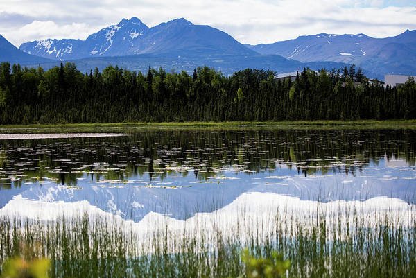 Photograph - Reflection Lake by Gloria Anderson