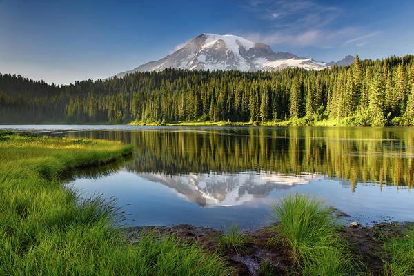 Photograph - Reflection Lake Vista by Michael Blanchette