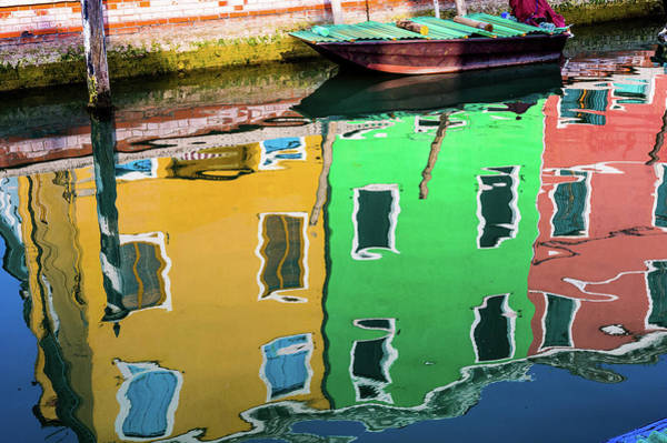 Photograph - Water Reflection by M G Whittingham