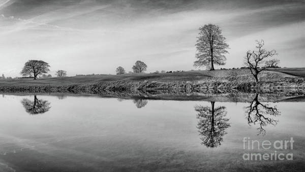 Maynooth Photograph - Reflection  by Michael Grubka