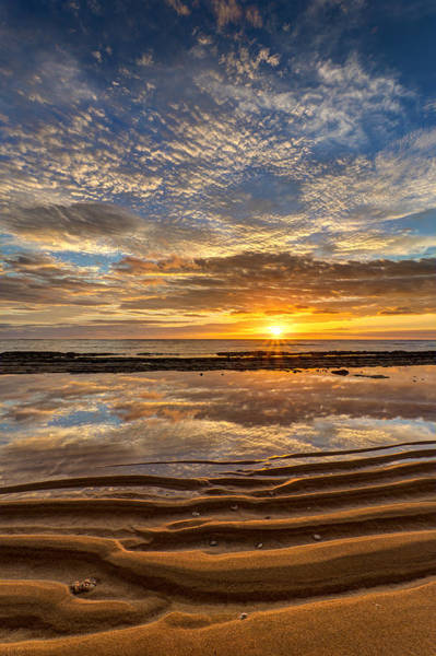 Photograph - Reflection Of A Kauai Sunrise by Pierre Leclerc Photography