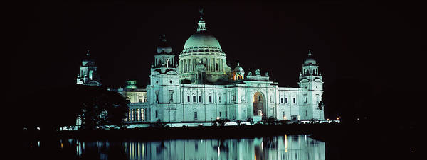 Kolkata Photograph - Reflection Of A Palace In Water by Panoramic Images