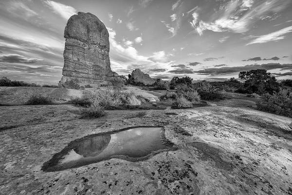 Photograph - Reflection Of Arches II by Jon Glaser