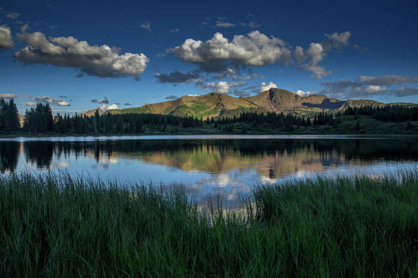 Wall Art - Photograph - Reflection On Little Molas Lake by Bridget Calip