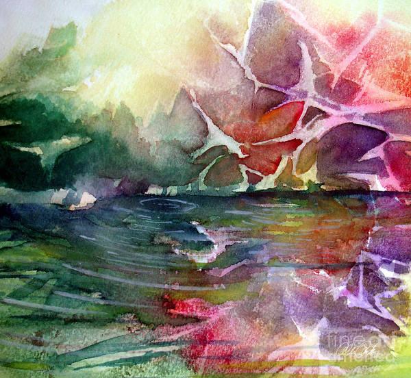 Painting - Reflection Pond by Allison Ashton