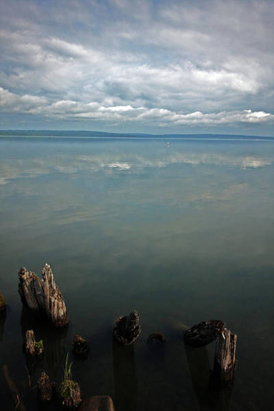 Lake Superior Wall Art - Photograph - Reflection Remains by Ty Helbach