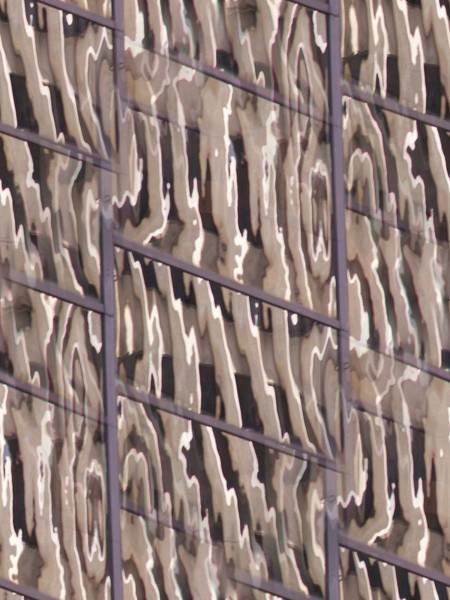 Highrise Digital Art - Reflection by Tim Allen