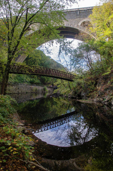 Wall Art - Photograph - Reflections Along The Wissahickon Creek by Bill Cannon