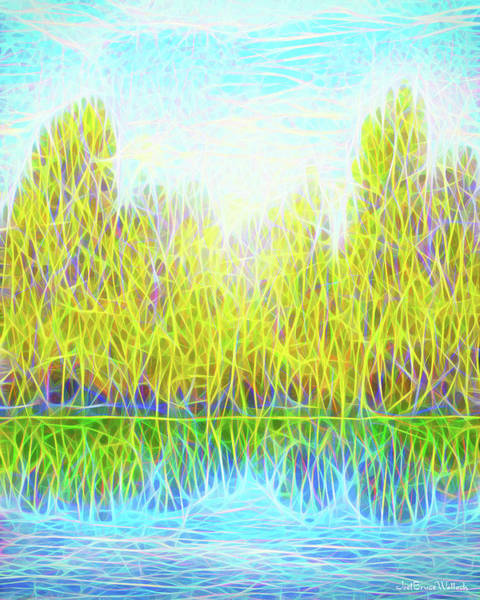 Digital Art - Reflections And Realizations by Joel Bruce Wallach