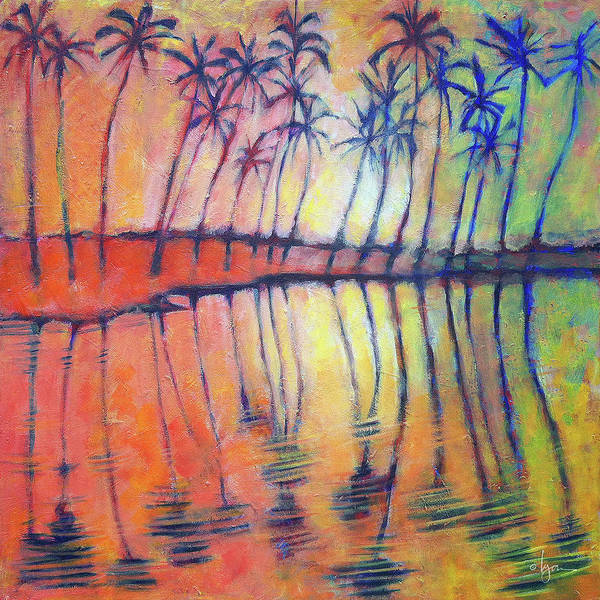 Painting - Reflections by Angela Treat Lyon