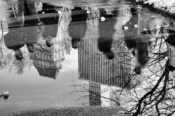 Photograph - Reflections Around Central Park by Cate Franklyn