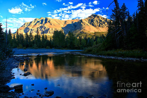Photograph - Reflections At 2 Medicine by Adam Jewell