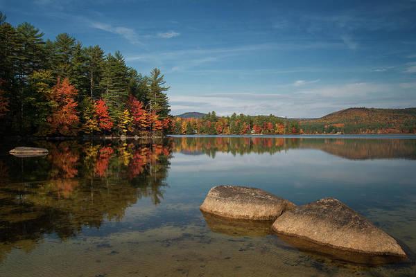 Photograph - Reflections At Bear Pond by Darylann Leonard Photography