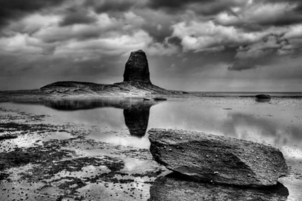 Photograph - Reflections At Black Nab by Sarah Couzens