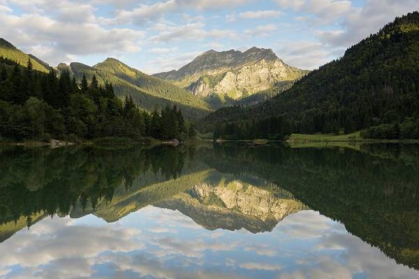 Photograph - Reflections At Lac De Vallon by Stephen Taylor