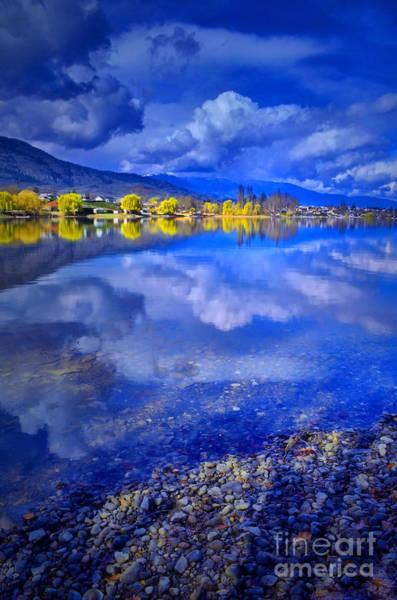 Photograph - Reflections At Osoyoos Lake by Tara Turner