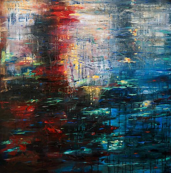 Reflections Cityscape Art Print