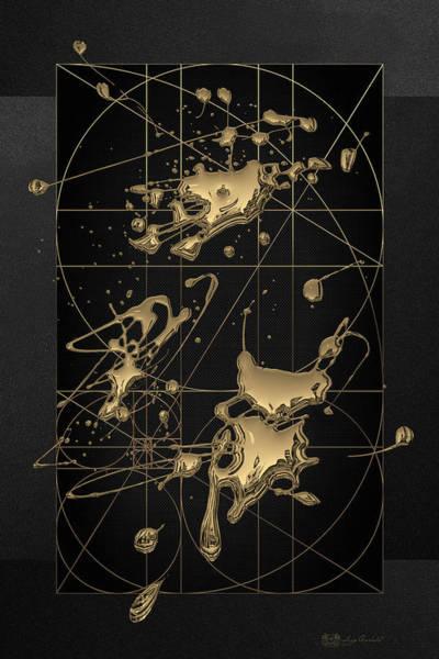 Digital Art - Reflections - Contemplation  by Serge Averbukh