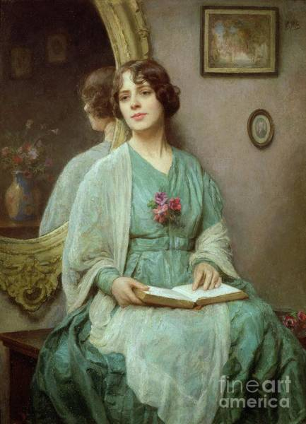 Thoughts Painting - Reflections by Ethel Porter Bailey