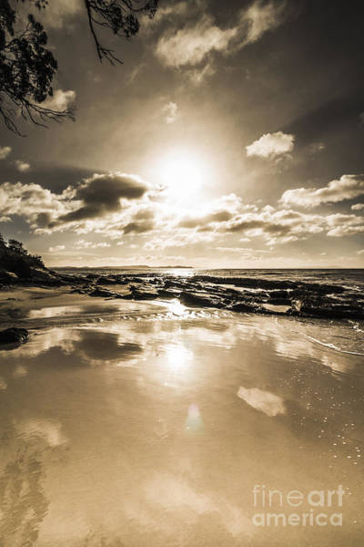 Photograph - Reflections From Adventure Bay by Jorgo Photography - Wall Art Gallery