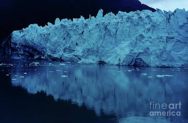 Photograph - Reflections - Glacier by D Hackett