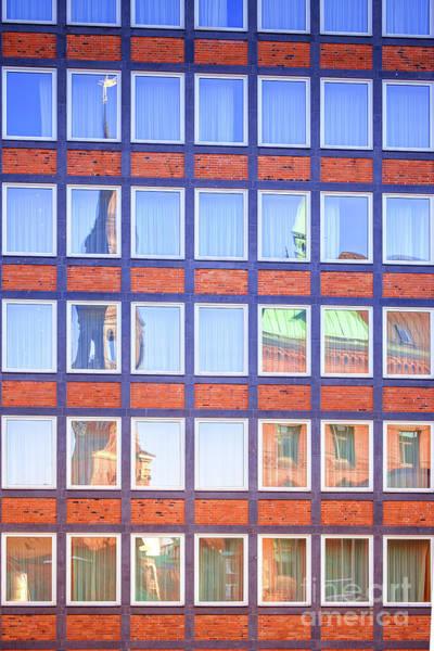 Photograph - Reflections In Hafencity by Marina Usmanskaya