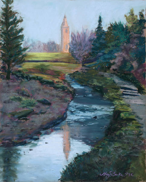 Fife Painting - Reflections In History by Mary Benke