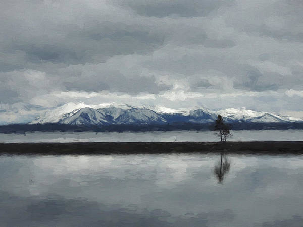 Photograph - Reflections In Lake Yellowstone by Jayne Wilson