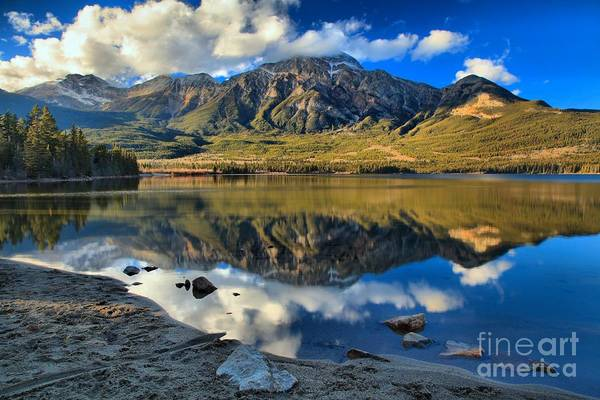 Photograph - Reflections In Pyramid Lake by Adam Jewell