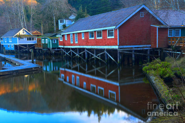 Photograph - Reflections In Telegraph Cove by Adam Jewell