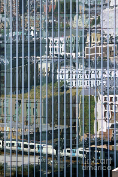 Photograph - Reflections In The City by Julia Gavin