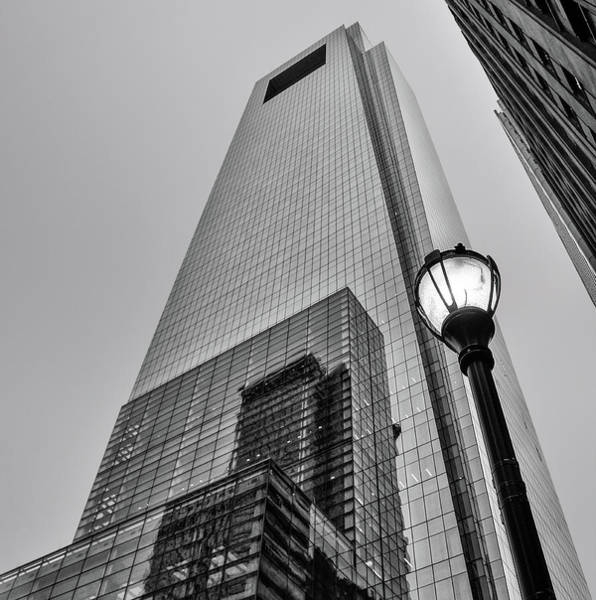 Wall Art - Photograph - Reflections In The Light - Philly Skyscrapers In Black And White by Bill Cannon