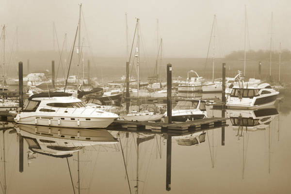 Wall Art - Photograph - Reflections In The Mist. by Terence Davis