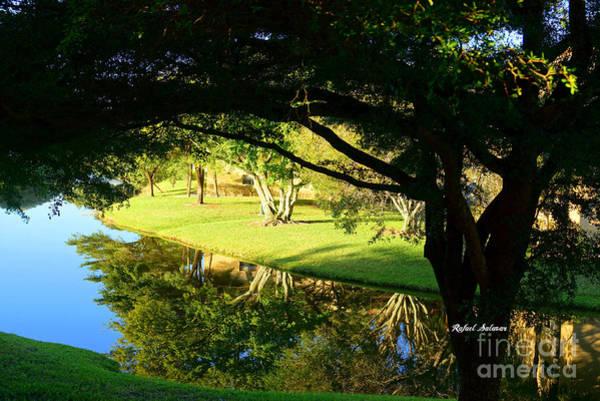 Digital Art - Reflections In The Morning by Rafael Salazar