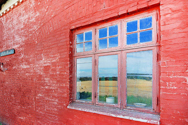 Wall Art - Photograph - Reflections In The Old Mill House Window by Robert Lacy